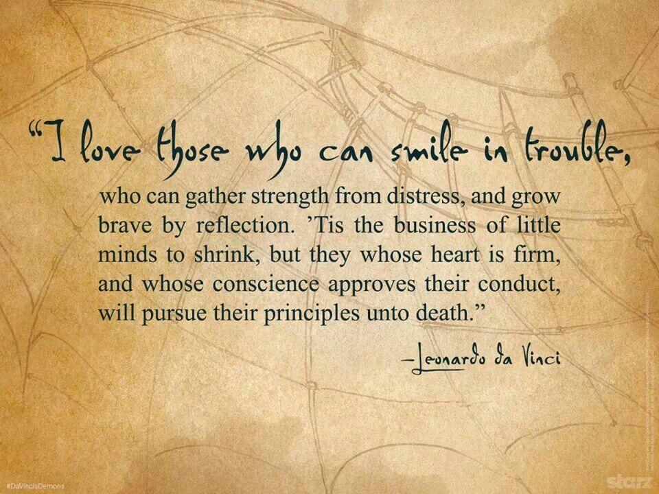 Words Of Encouragement By Leonardo Da Vinci Da Vinci