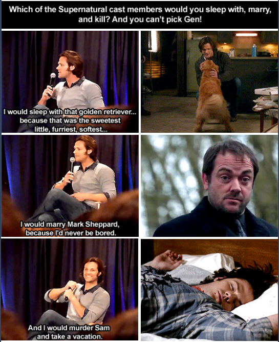 Supernatural fandom | Jared