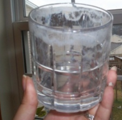 How to clean cloudy drinking glasses | Drinking glass