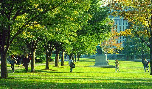 Cornell University - the quad