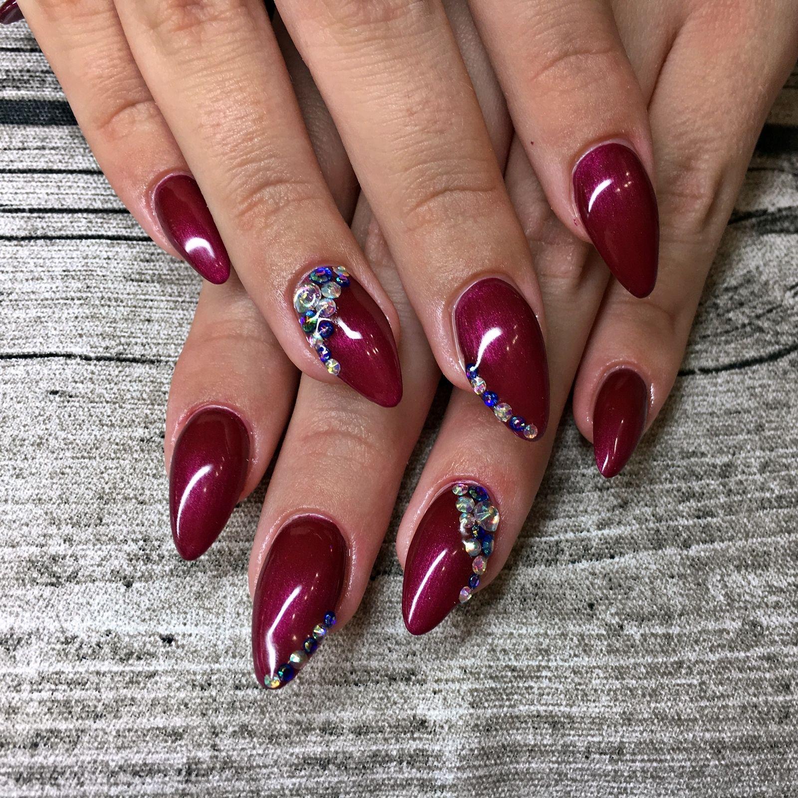 Nail Art Inspiration 1 Fashionladyloves Nagel Mit Diamanten Glitzernagel Nageldesign