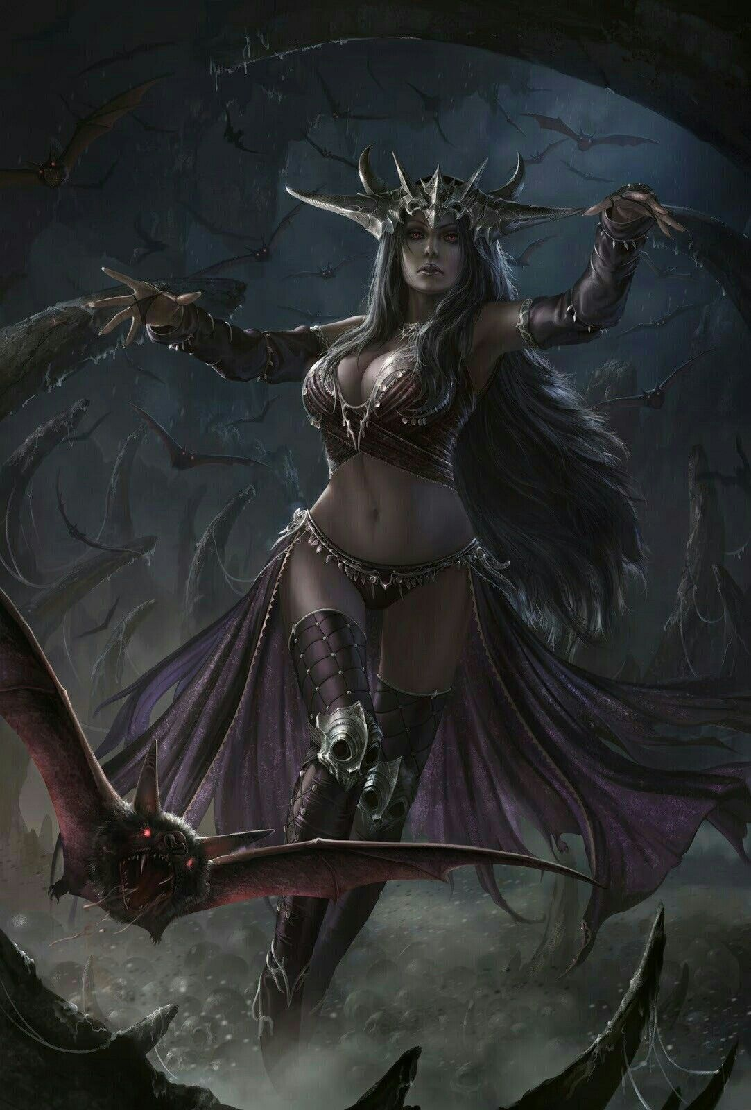 Fantasy Art Vampire Queen
