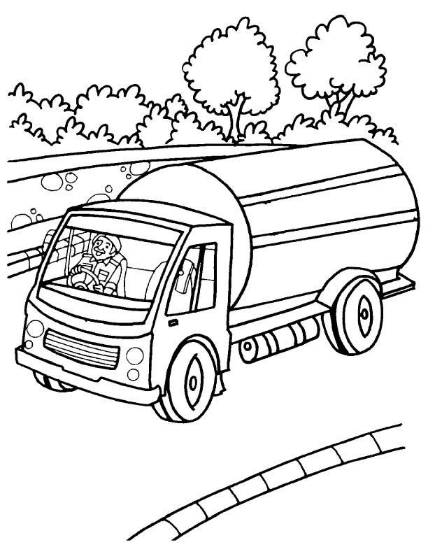 Free Fire Truck Coloring Pages Printable Tanker Truck Coloring Pages Truck Coloring Pages Monster Truck Coloring Pages Coloring Pages For Kids
