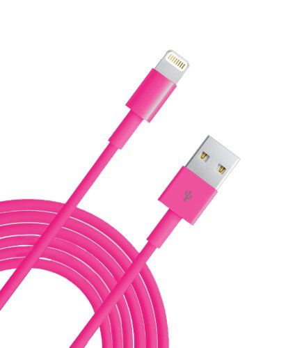 Extra Long 10 Feet Iphone 5 5s 5c Ipod Touch Nano 7th Gen Cable Ideal For Charging In Bed Cars Hotel Rooms And More Easily R Usb Charger Cord Cable Charger