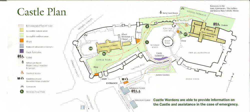 windsor castle map - Google Search | Castle plans, Windsor ...