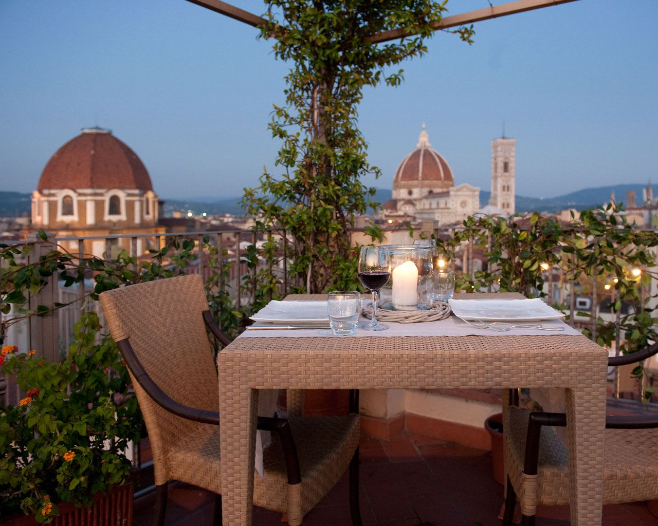 summer aperitivo from 17:00 on - Ristorante Terrazza Brunelleschi ...