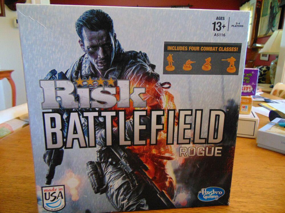 Risk Battlefield Rogue Board Game New, Open Box