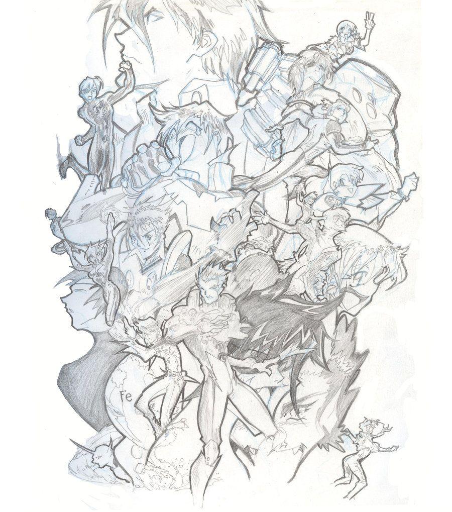 legion of the super heros by willaimaaker.deviantart.com on @deviantART