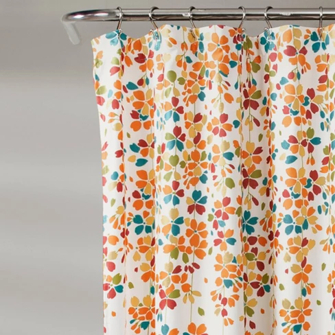 Weeping Flower Shower Curtain Lush Decor With Images Lush