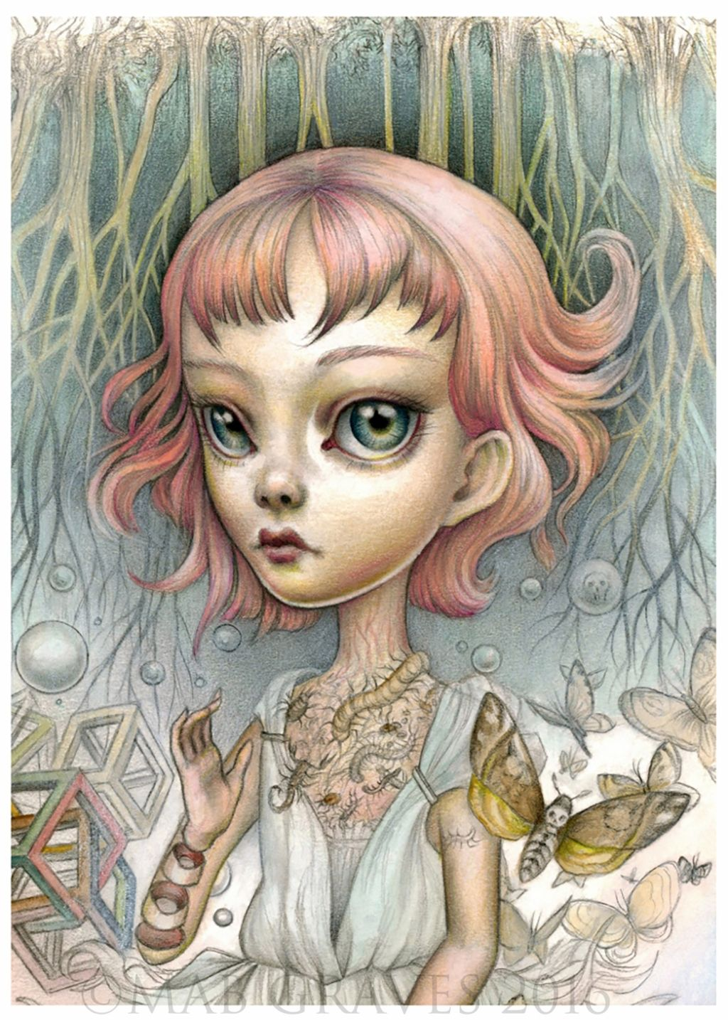 Mab graves a boy that is a girl pop surrealism artist