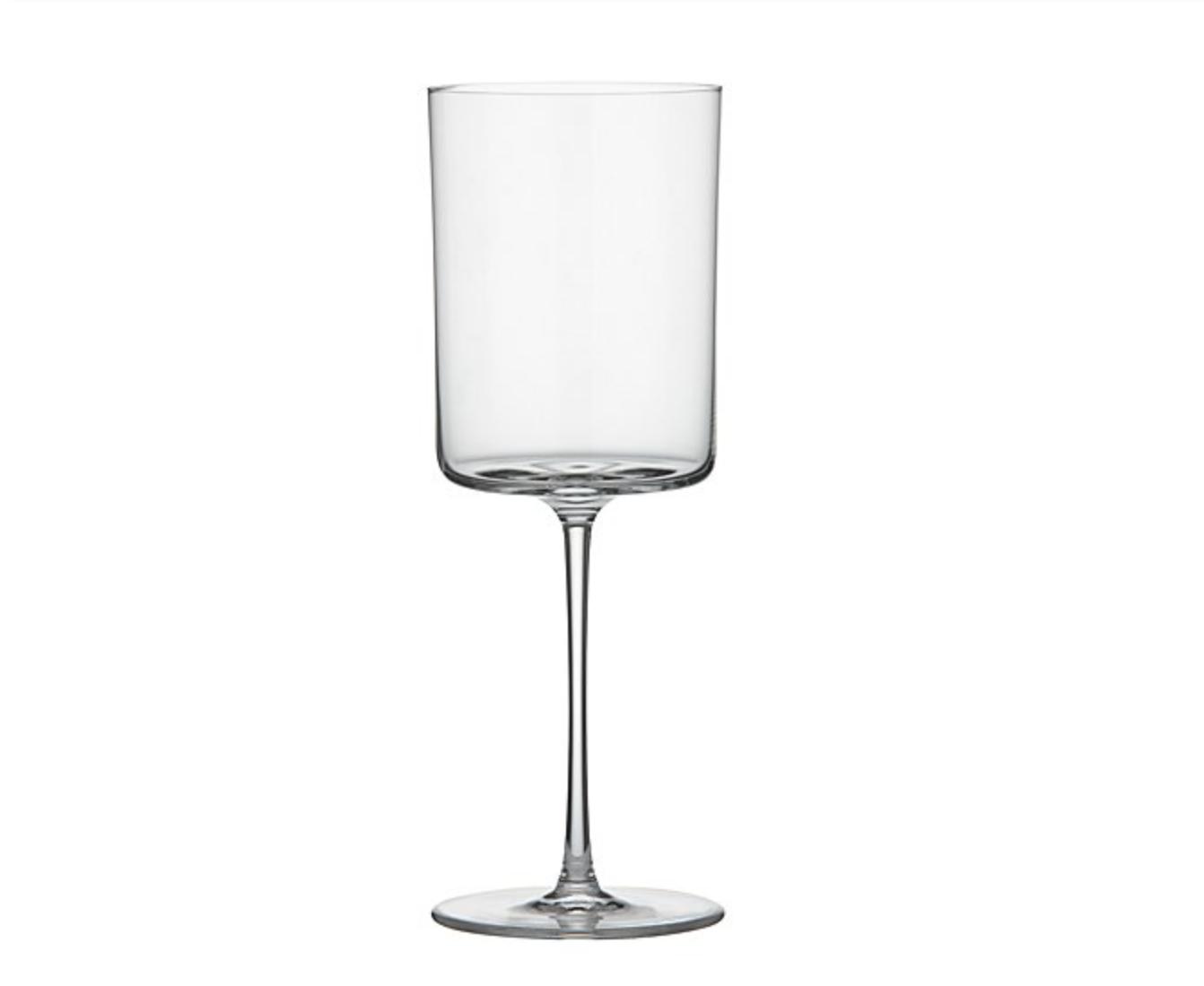 Stemless Wine Glass in Misty White