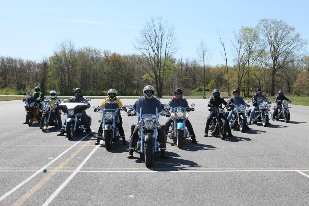 RIDOT partnered with CCRI for the Motorcycle Skills Revival Rally on April 28, 2012 at CCRI's Lincoln campus.