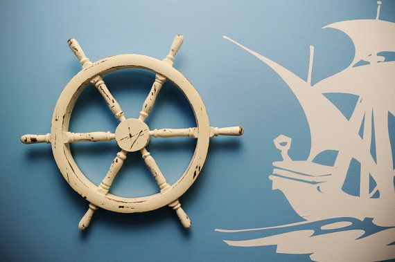 Pirate Ship Wheel by rizOHcollection on Etsy, $55.00