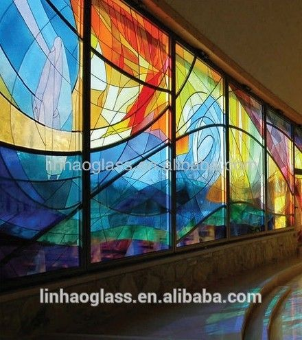Painted Glass Wall Prices Low Cost Stained Glass Feature Wall Design Buy Decorative Glass Wall Design Mirror Glass Wall Prices Glass Wall Prices Product On Al Stained Glass Panels Modern Stained Glass Stained