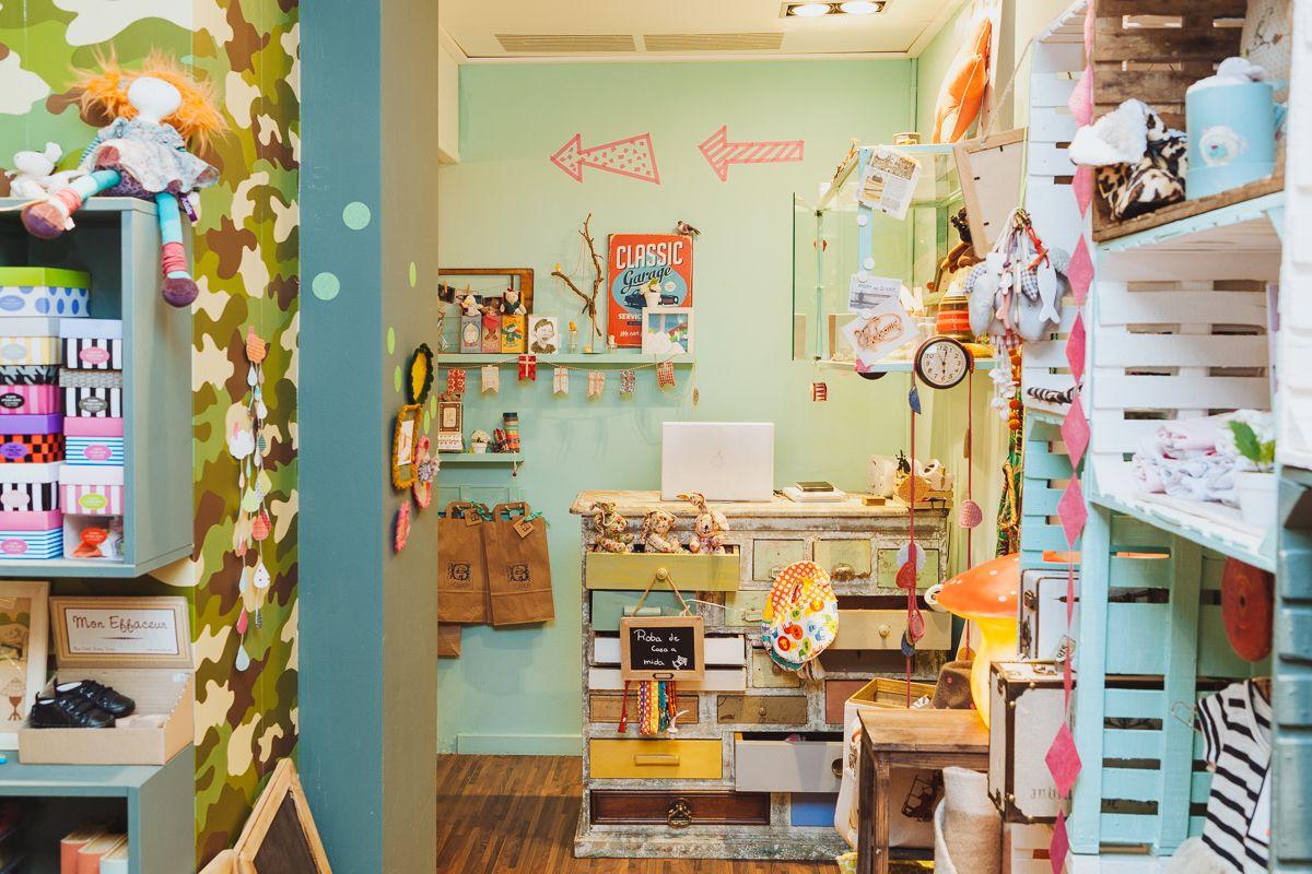 babillage barcelona, c. verdi 8 tienda de decoración y moda infantil