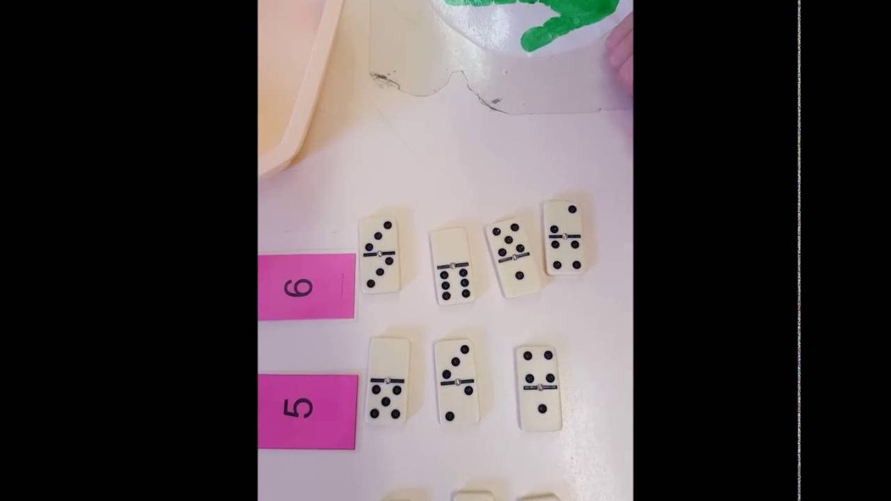 Décomposition du nombre avec les dominos | Petites séquences d ...