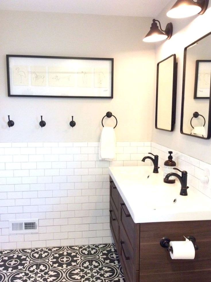 54 Farmhouse Rustic Master Bathroom Remodel Ideas