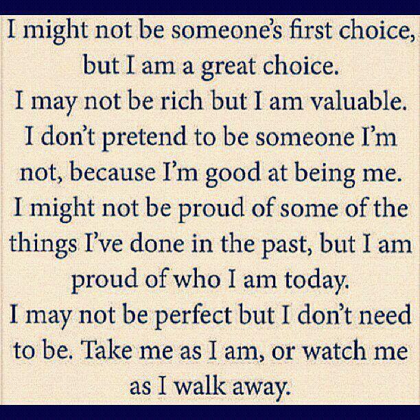 I am a great choice!