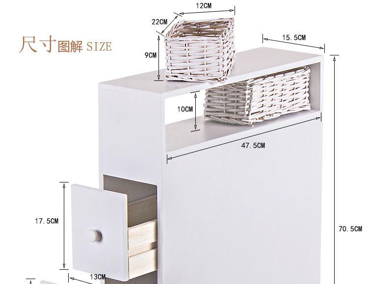 furniture toilet combination side cabinet bathroom cabinet pumping rh pinterest es