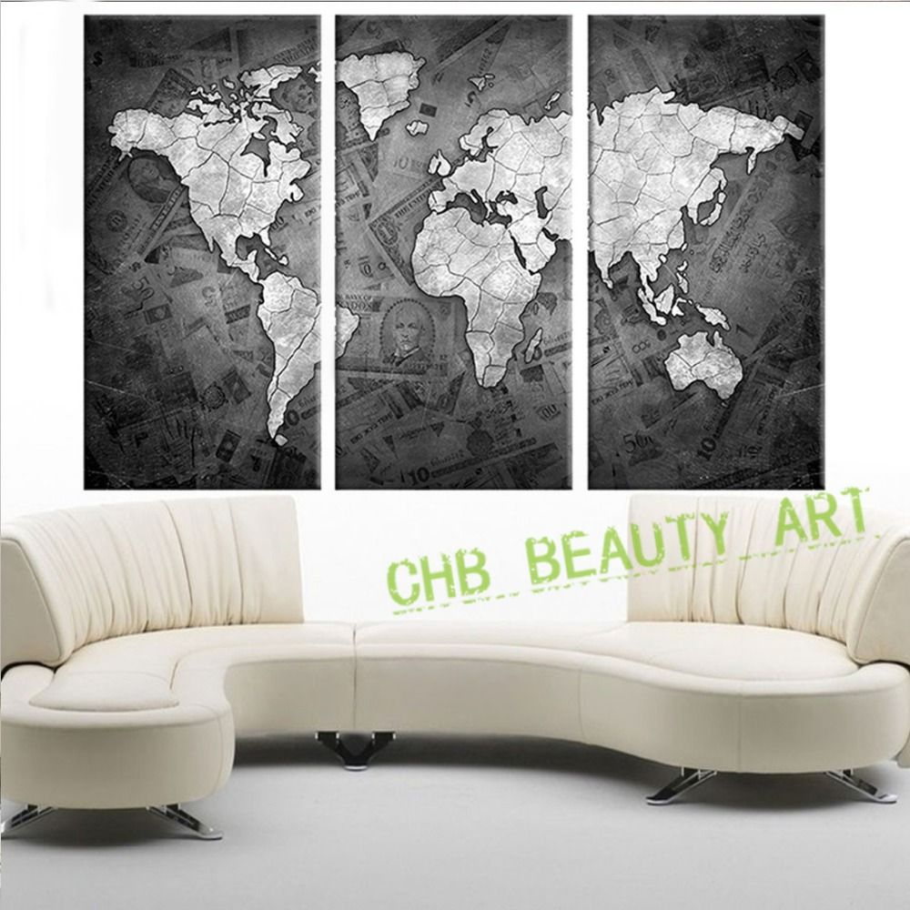 World Map Black And White Popular world