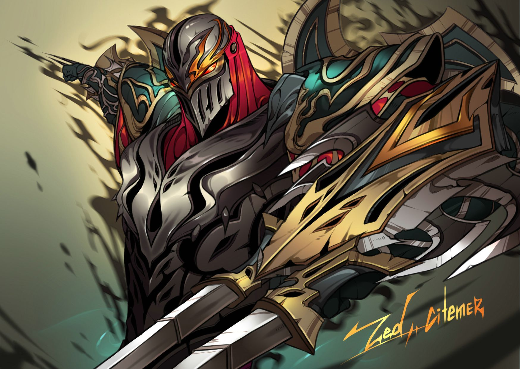 zed league of legends fanart artist citemer league of legends rh pinterest com