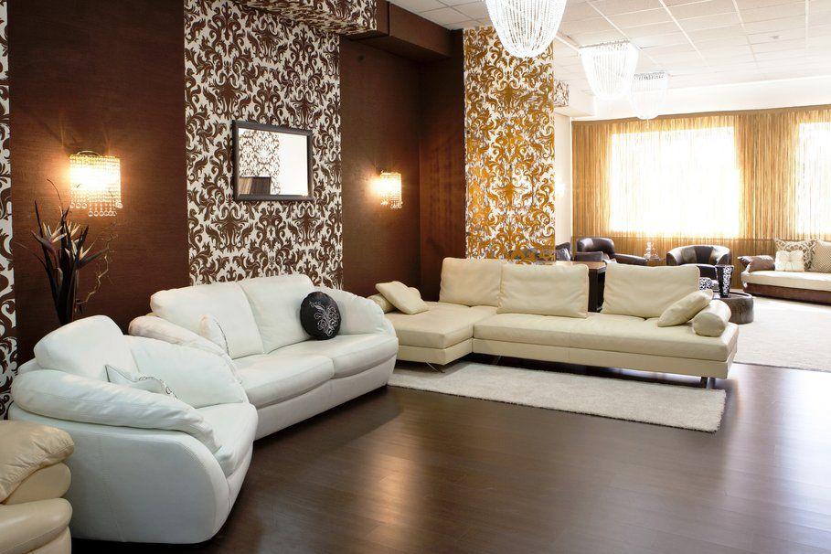 Woonkamer Bruin Wit : Mooie woonkamer waarin zwart wit en bruin prachtig met elkaar