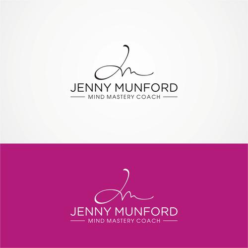 Jenny Munford Logo For Motivational Speaker And Mind Mastery Coach Motivational Speaker And Mind Professional Business Cards Logo Design Logo Design Contest