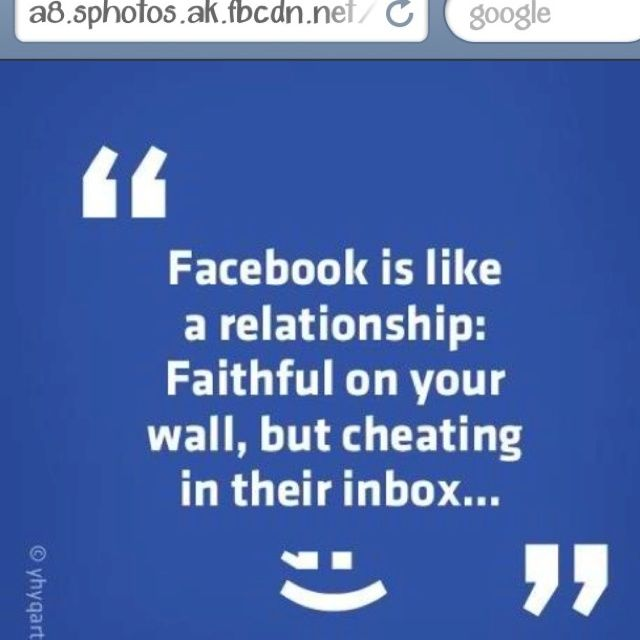 Facebook Cheating