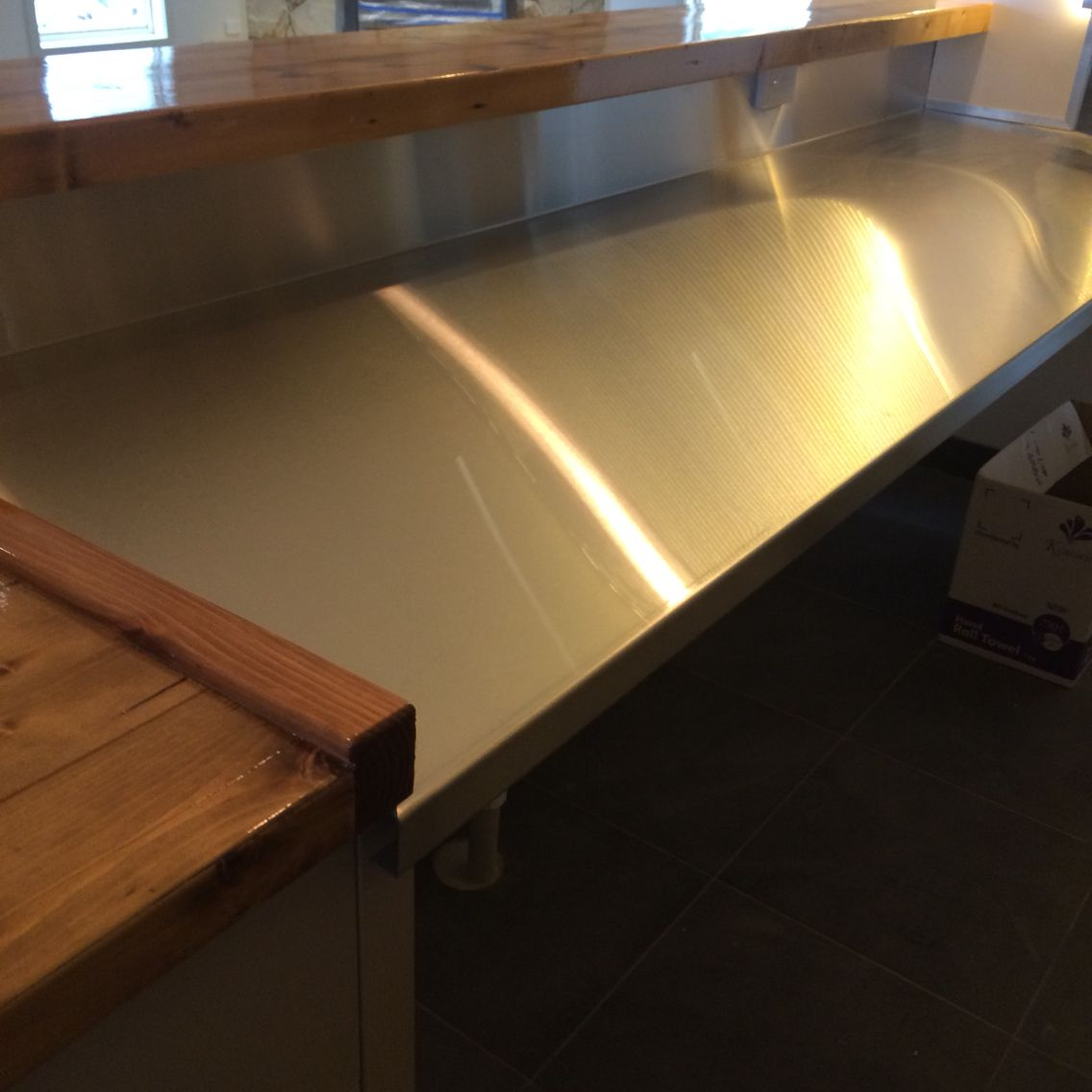 Custom Stainless Steel Bar Tops Custom Metal Fabrication Metal Fabrication Stainless Steel Bar