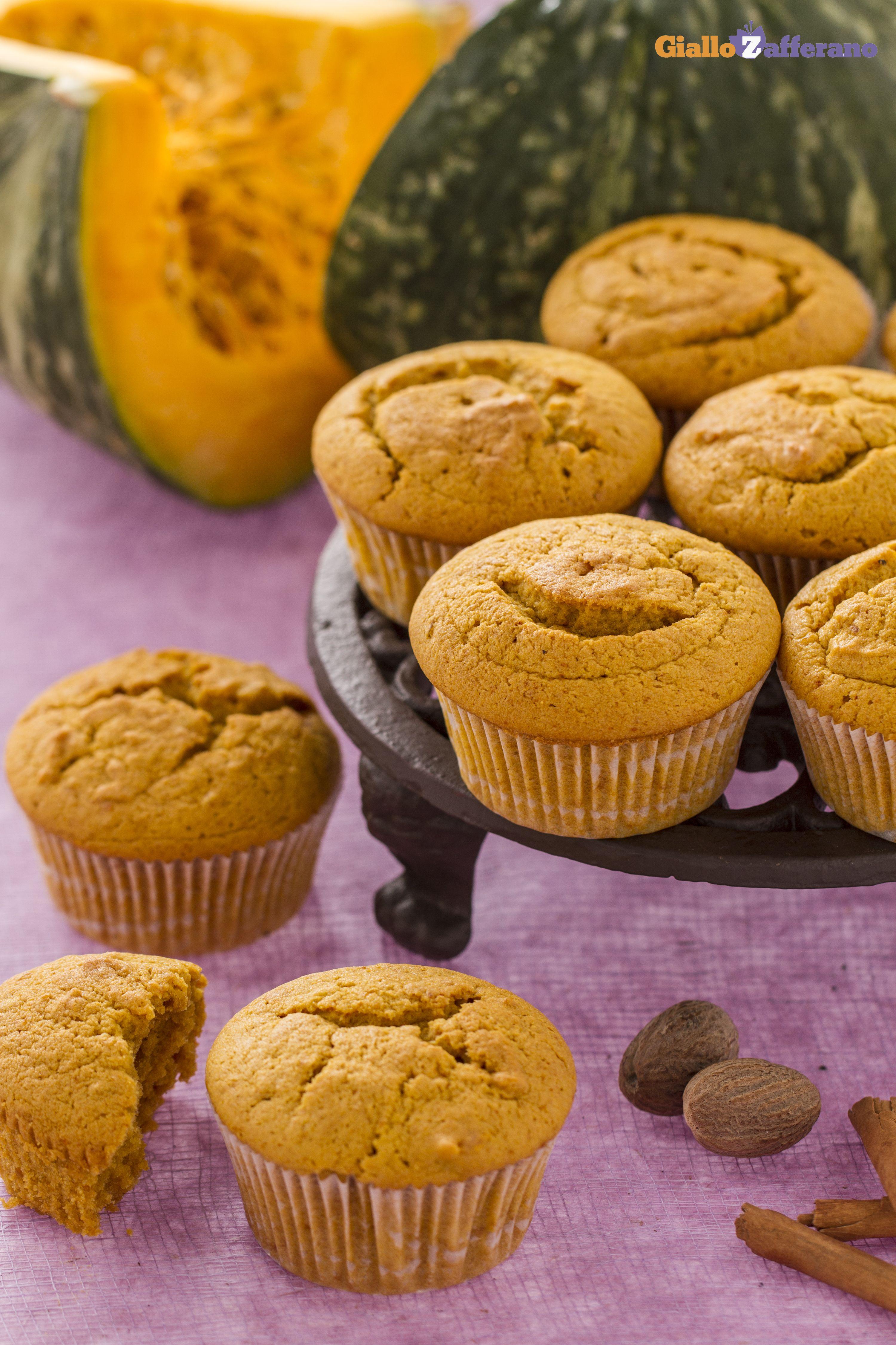 Muffin alla zucca Ricetta Muffin alla zucca, Ricette