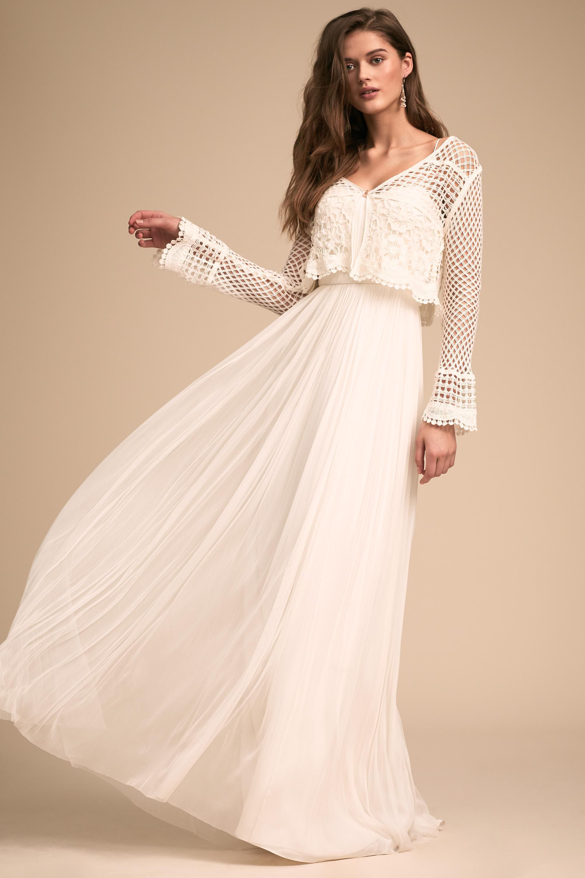 Wedding dresses department stores  Conway Cardigan from BHLDN  The White Boutique The Color Wheel