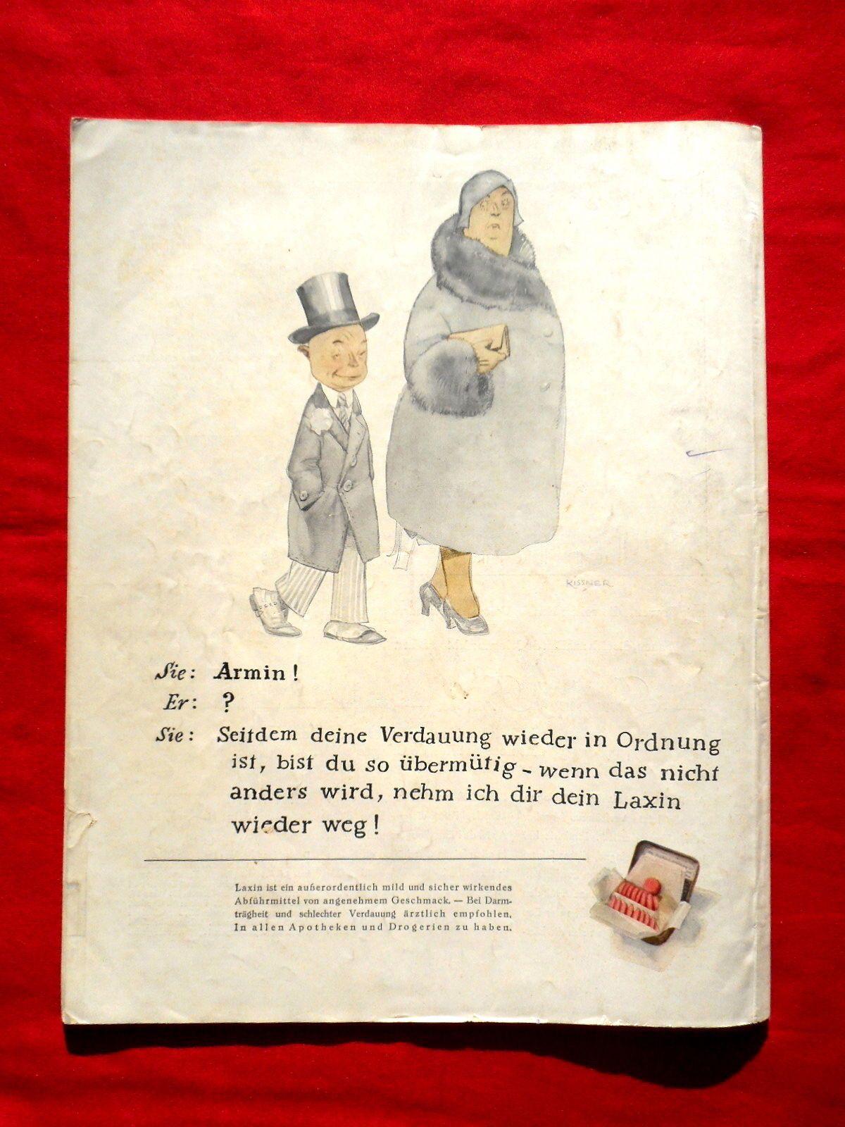 Die Dame, Zeitschrift von 1930 Nummer 8, Cover von Prof. Essenther, Wintersport in Antiquitäten & Kunst, Antiquarische Bücher, Zeitschriften, 1919-1945 | eBay