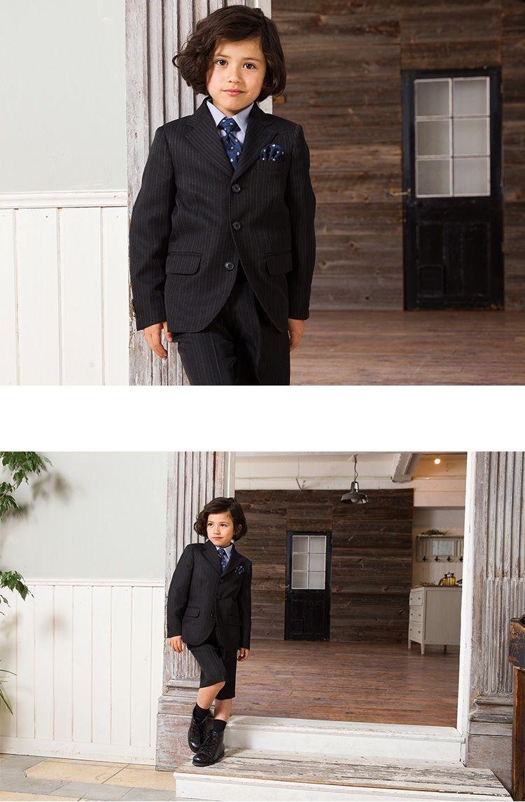 59df9d3598785  楽天市場 入学式 スーツ 男の子 ブラックフォーマル 5点セット OLIVER HOUSE オリバー