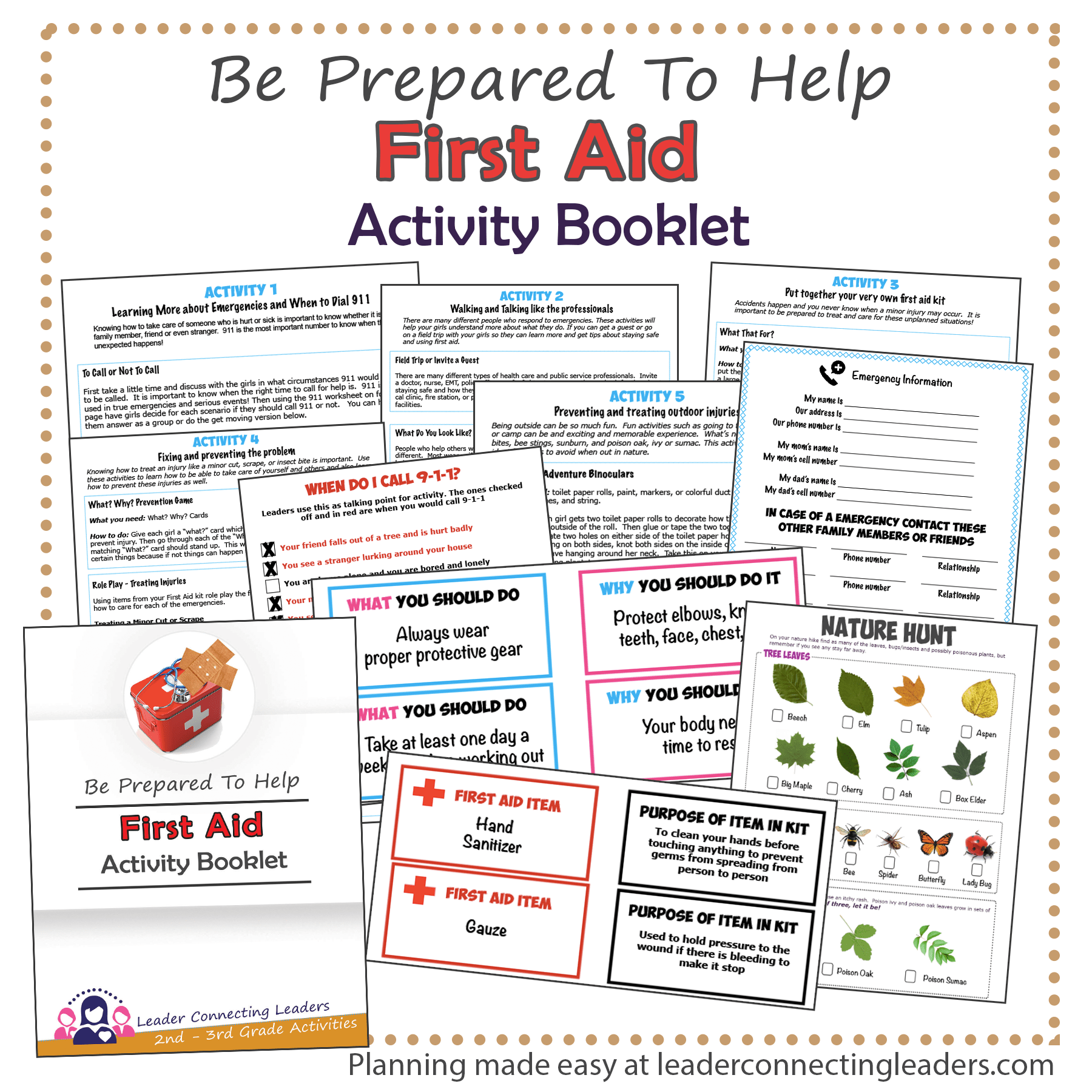 First Aid Activity Booklet 2nd