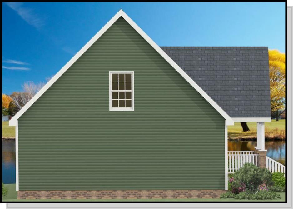 1212 Roof Pitch on a modular home Dream home design