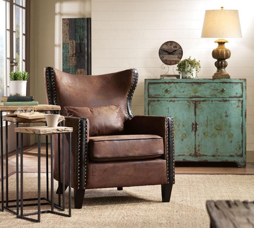 i love this chair and blue chest on the short list for my living rh pinterest com