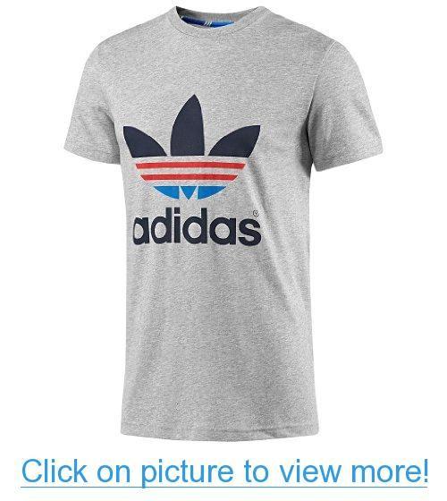 Adidas hombre  Trefoil t shirts camisetas Pinterest Adidas Oddity