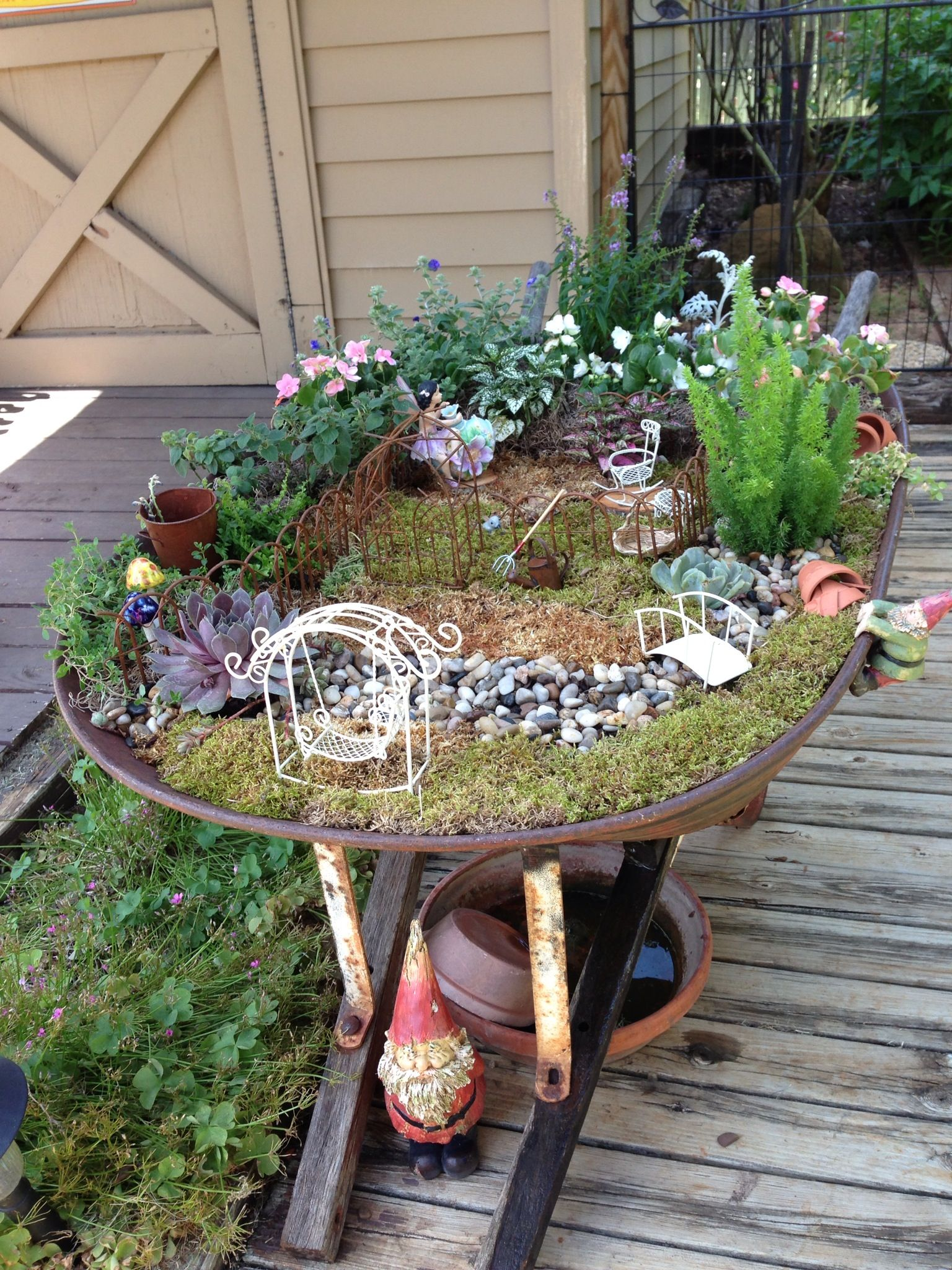 Anneu0027s Fairy Garden This is what I