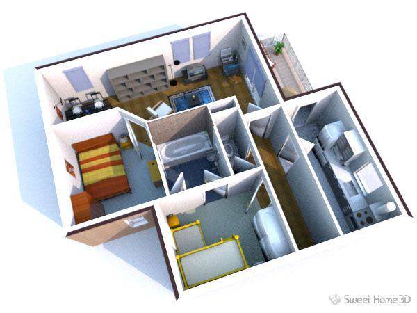 sweet home 3d free furniture