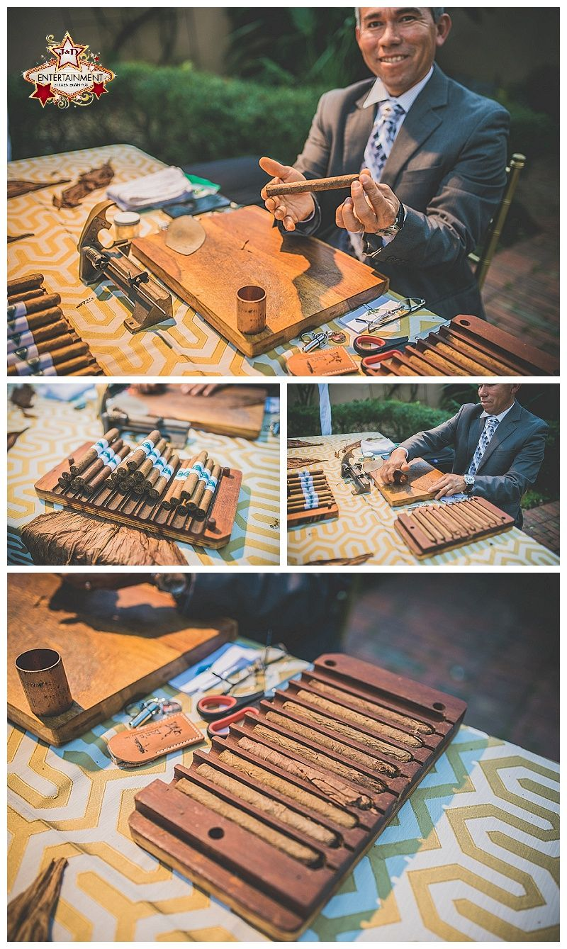 Having An Upscale Baby Shower Or Want To Add A Bit Of Cuban Flare To Your Event Add A Cigar Roller J D Entertainment Company In H Upscale Baby Roller Cigars