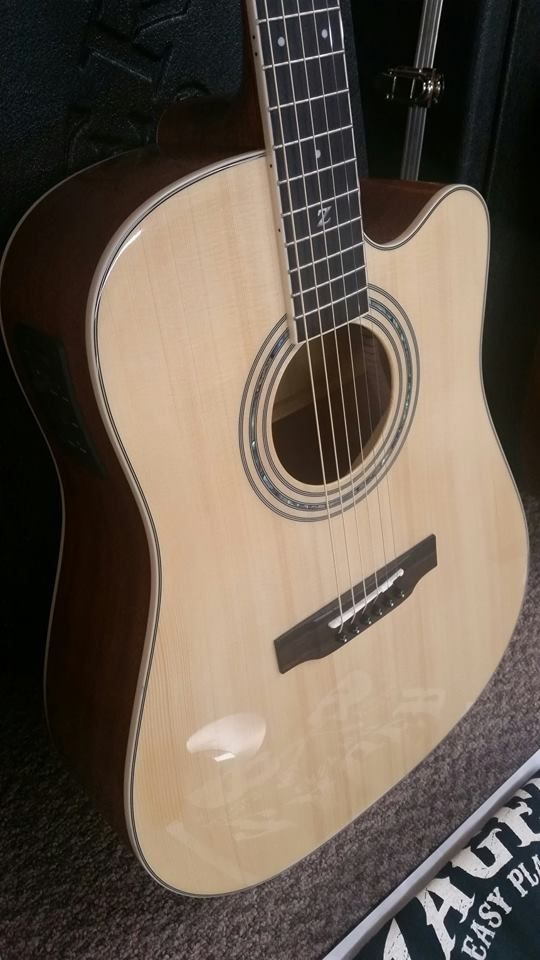 Zager Zad50ce Acoustic Electric Guitar Guitar Cool Guitar Acoustic Electric Guitar