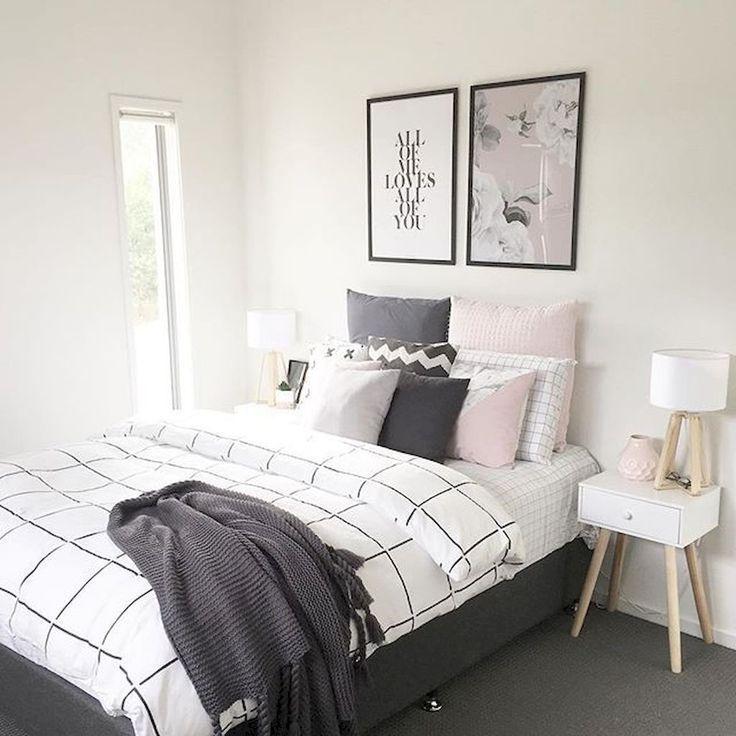 Schöne 100 fabelhafte minimalistischen Schlafzimmer Dekor Ideen ...