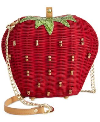 Betsey Johnson Strawberry Crossbody - Handbags & Accessories - Macy's
