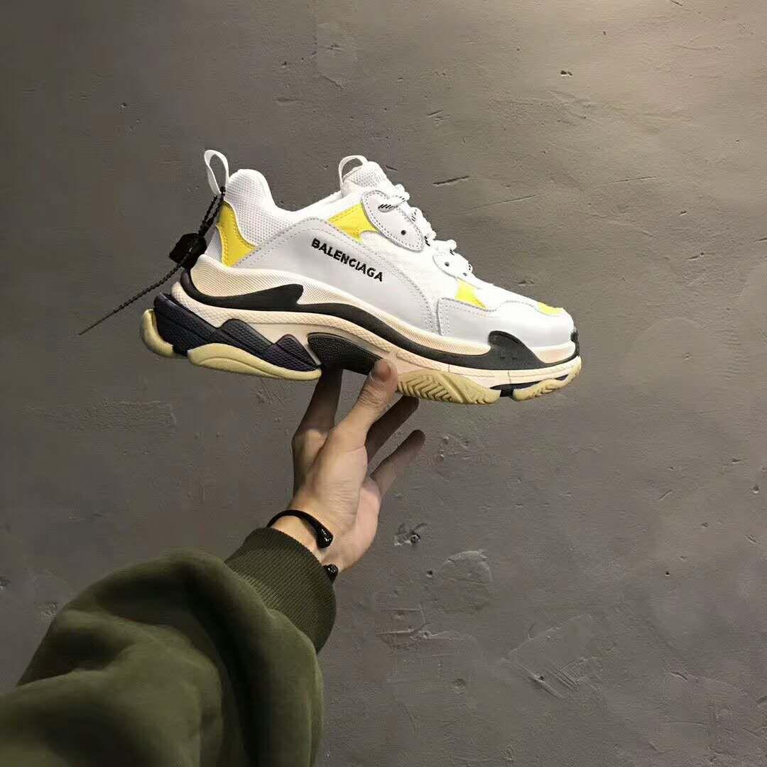 1a1bf66b8e Dover street Market balenciaga triple s trainer dad shoes DSM exclusive