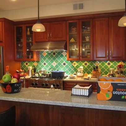 mexican tile backsplash design pictures remodel decor and ideas rh pinterest com