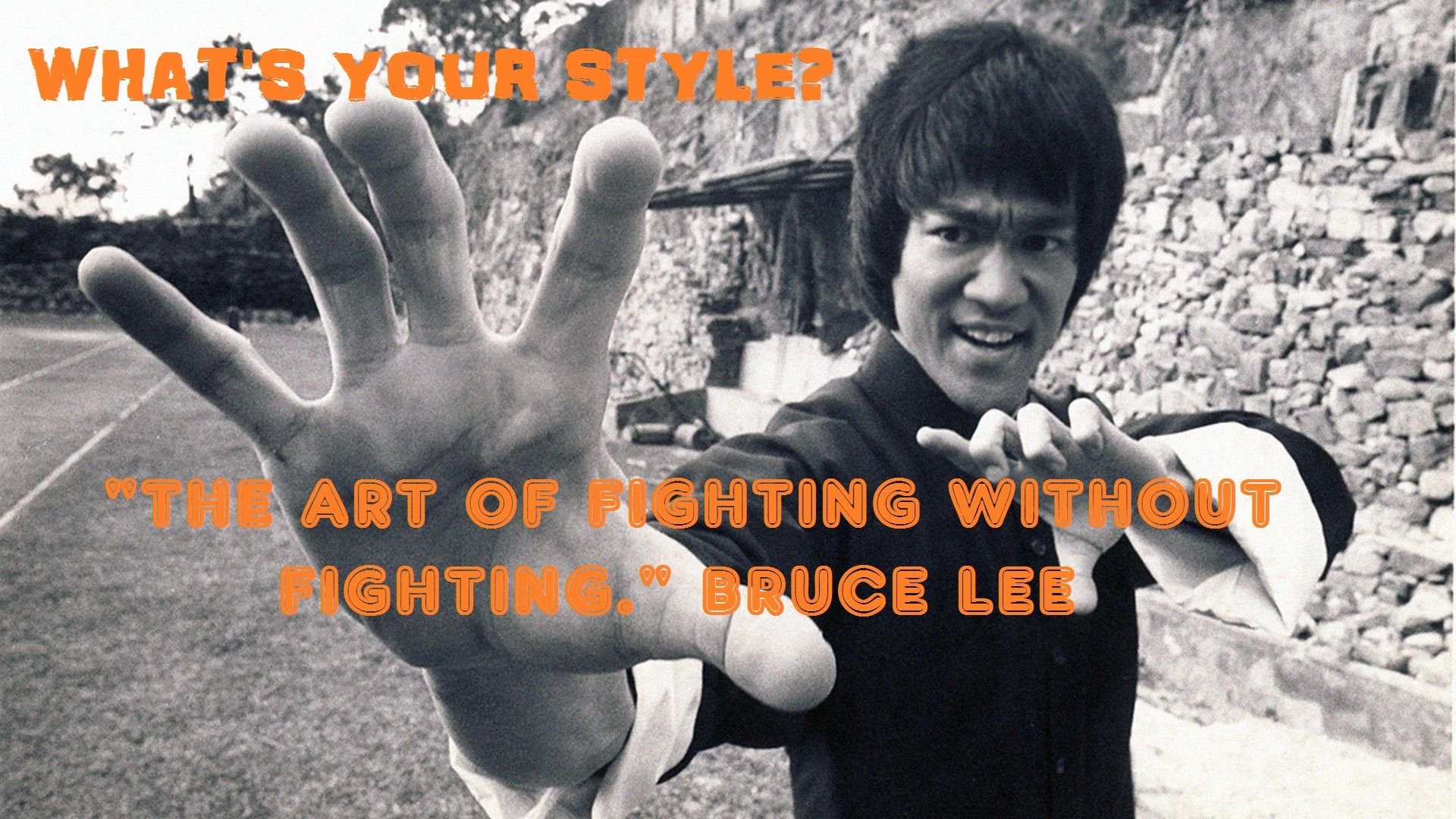 The Art Of Fighting Without Fighting Bruce Lee Bruce Lee Bruce Lee Quotes Martial Arts