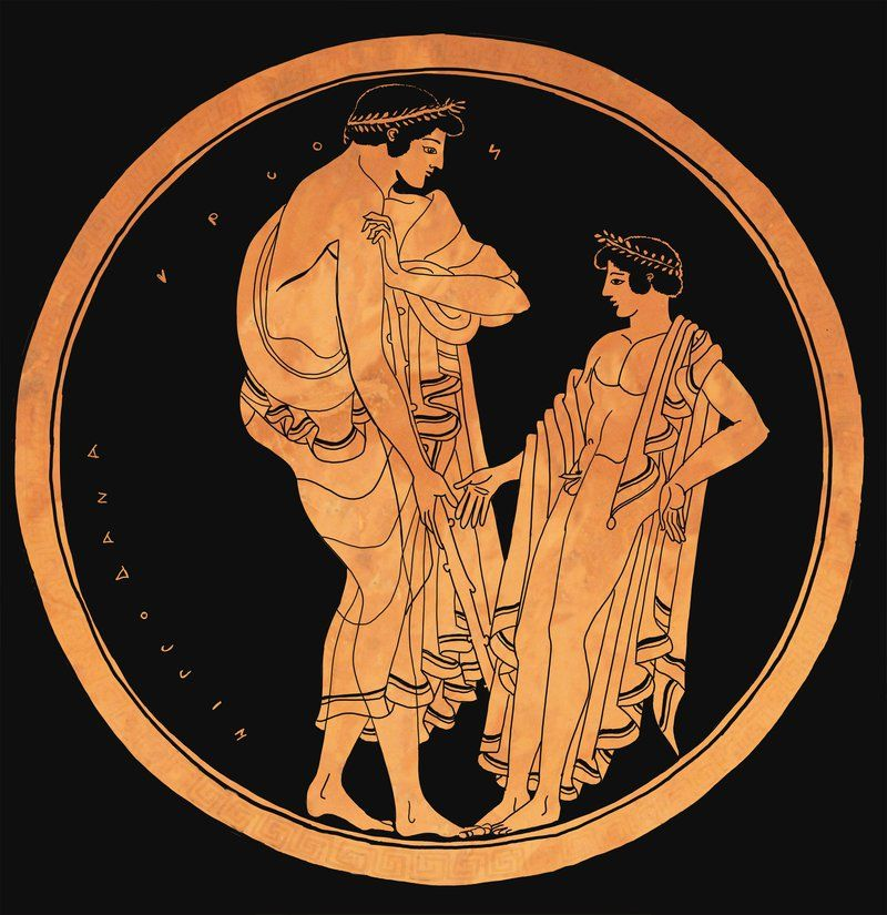 Pin Tillagd Av Brightstone Cary Cox P Greek Vase Painting By