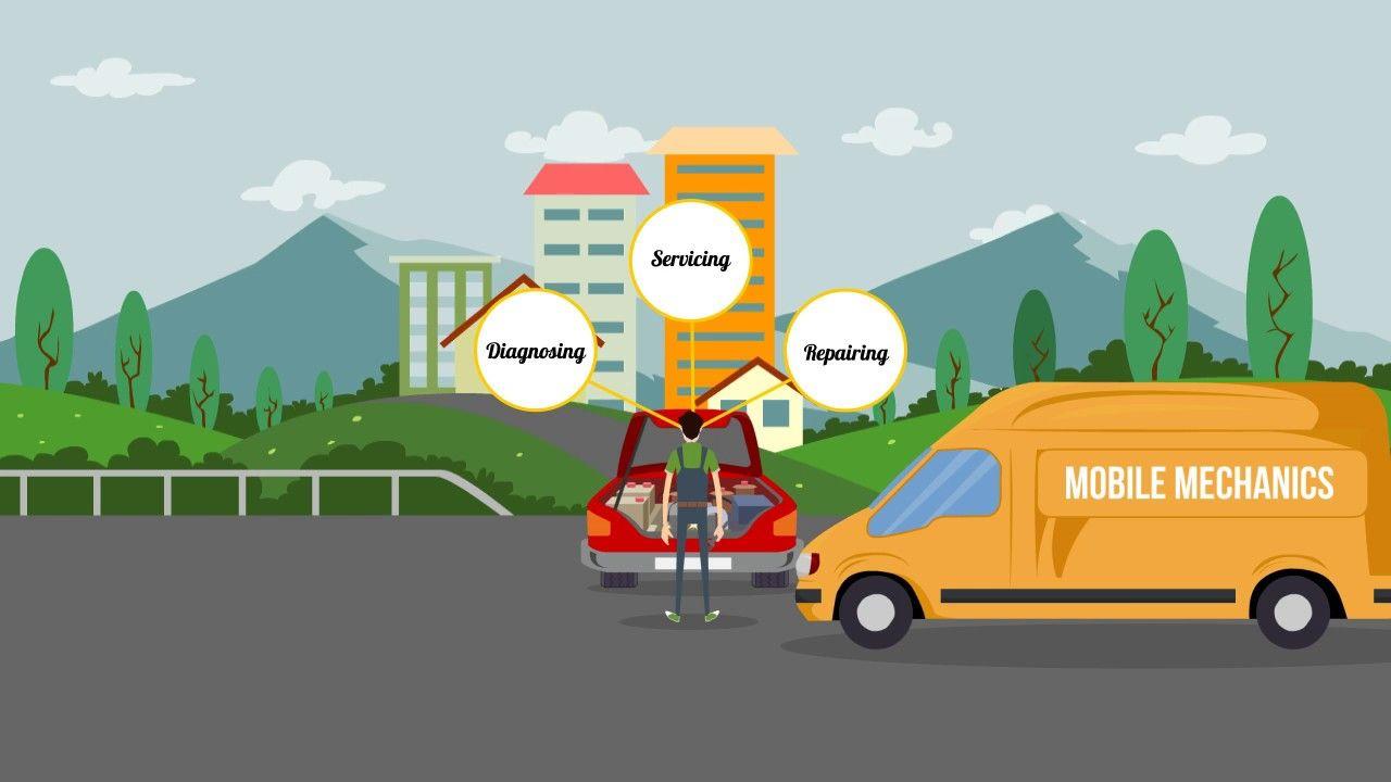 Mobile Mechanic in Wellington Auto repair shop, Video