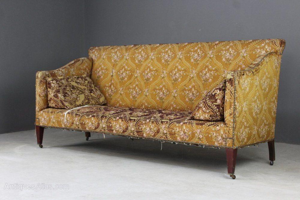Large Antique Edwardian Sofa Antiques Atlas Antique Sofa Sofa