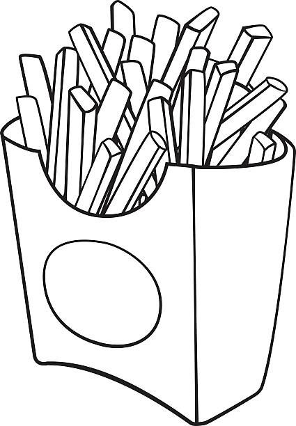 French Fries Coloring Pages Best Coloring Pages For Kids In 2020 Owl Coloring Pages Coloring Pages Preschool Coloring Pages